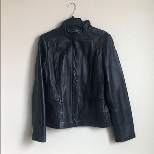 Black Genuine Lambskin Jacket